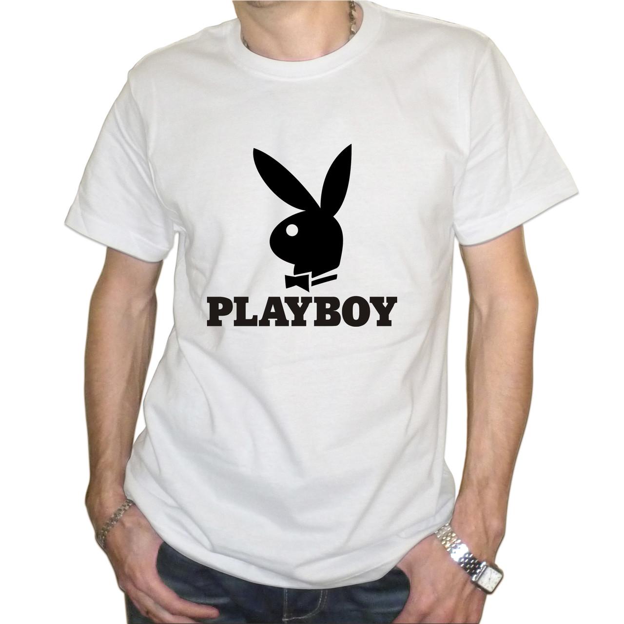 """Мужская футболка """"PlayBoy"""""""