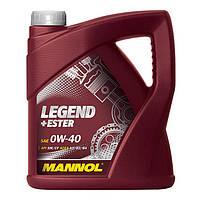 Моторное масло MANNOL Legend+Ester 0W-40 1л