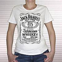 """Женская футболка """"Jack Daniels"""", фото 1"""