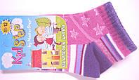 Короткие летние детские носки фиолетовые