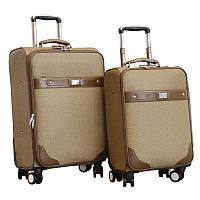 Элегантный деловой чемодан двойка (Кофе), 510372
