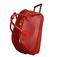 Дорожная винтажная сумка на колёсах 530180