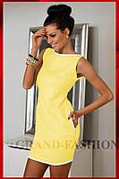 """платье """"Bell"""" желтый"""