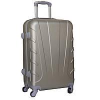 Стильный чемодан пластиковый, средний 5104113