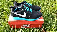 Мужские кроссовки Nike Roshe Run 41-46 + Коробка, фото 1