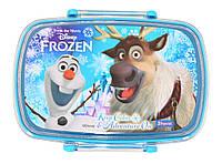 Ланч бокс детский Frozen Oloff (контейнер для еды) Холодное сердце
