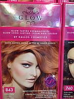 Краска для волос Kallos Glow Long Lasting Cream Hair Colour