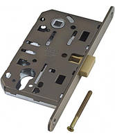 AGB Mediana Polaris магнитный механизм под ключ межкомнатный бронза античная