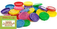 Крышка пластмассовая цветная СКО І-82, пищевая