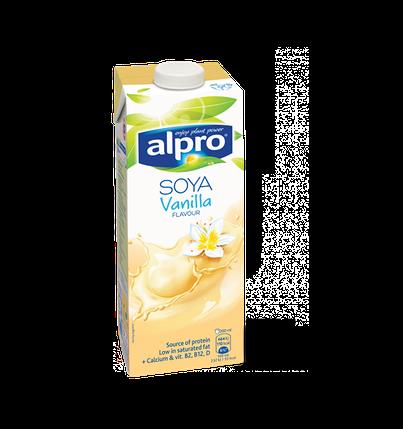 Молоко соевое с ванильным вкусом Alpro, 1л, фото 2