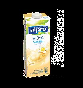 Молоко соевое с ванильным вкусом Alpro, 1л