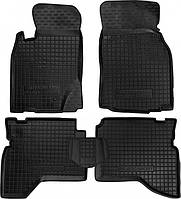 Полиуретановые коврики для Mitsubishi Pajero Sport I 1997-2008 (AVTO-GUMM)
