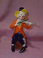 """CMS - 23/42 Фарфоровая статуэтка - фигурка """"Клоун"""" итальянской компании Pavone 16 сантиметров высота"""