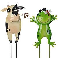 Набор садовых фигурок Коровка и жаба Greenware