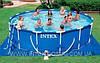 Каркасный бассейн Intex  56949 Интекс 457 х 107 см + насос-фильтр, лестница, тент, подстилка,киев