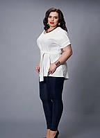 Красивая блуза-туника большого размера 499-7