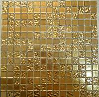 Золотая мозаика стекло Progres HL98