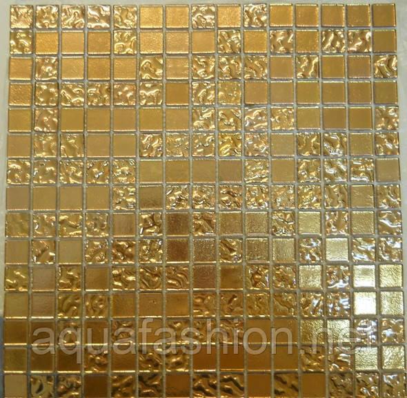Золота мозаїка скло Vivacer HL98