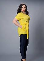Яркая женская блуза батал 499-5