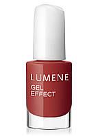 LU Gel Effect - Лак для ногтей гелевый с минералами (13-алый-красный), 5 мл