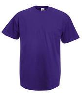 Футболка хлопковая - 61-036-PE фиолетовая