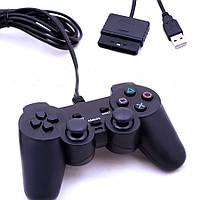 Джойстик для PC и PS2 DualShock USB+PS2, 706 U+P