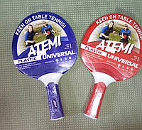 Ракетка для настольного тенниса Atemi plastic universal