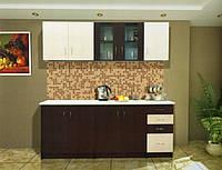 Кухня Венера венге+светлое венге 200 см