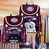 Школьный ранец для девочек Ортопедический CR А3 (35х35см.), фото 2