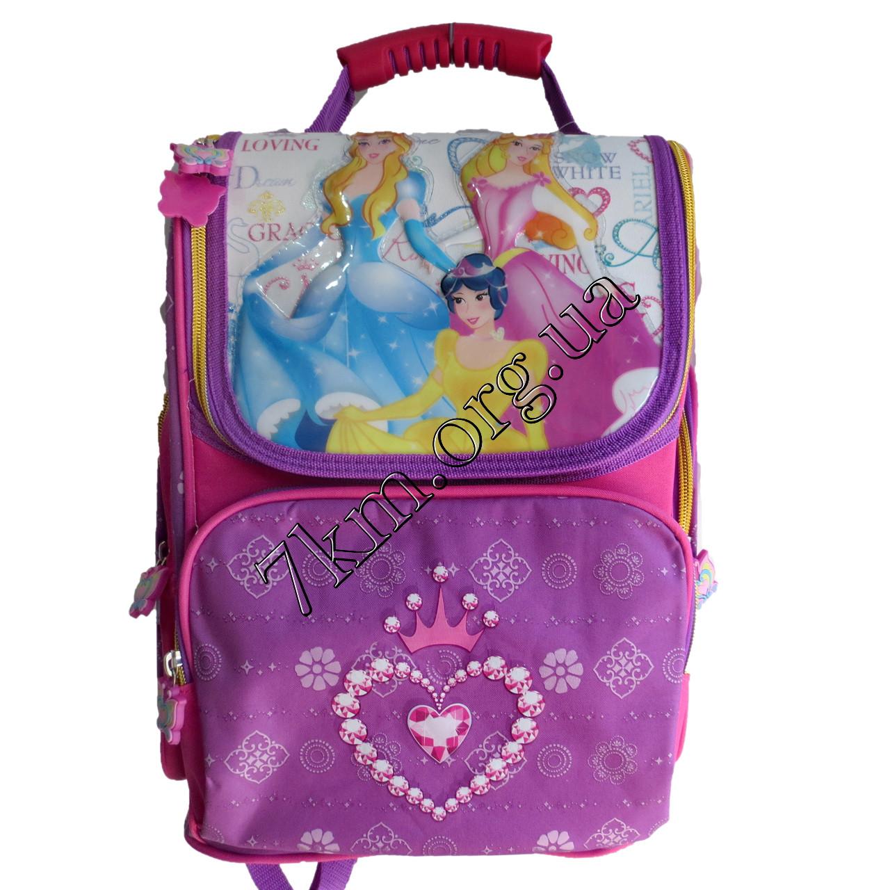 Школьный ранец для девочек Ортопедический 40215B (35х30см.)