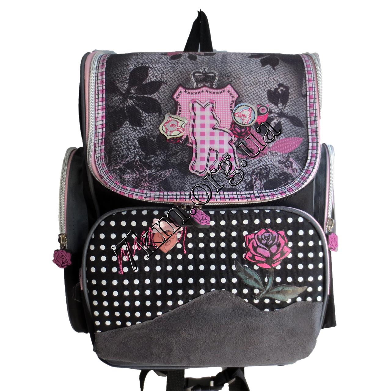 Школьный ранец для девочек Ортопедический 201131 (35х30см.)