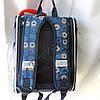 Школьный ранец для мальчиков Ортопедический Трансформер 12583-5 (35x35см), фото 3