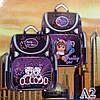 Школьный ранец для девочек Ортопедический CR А2 (35х35см.), фото 2
