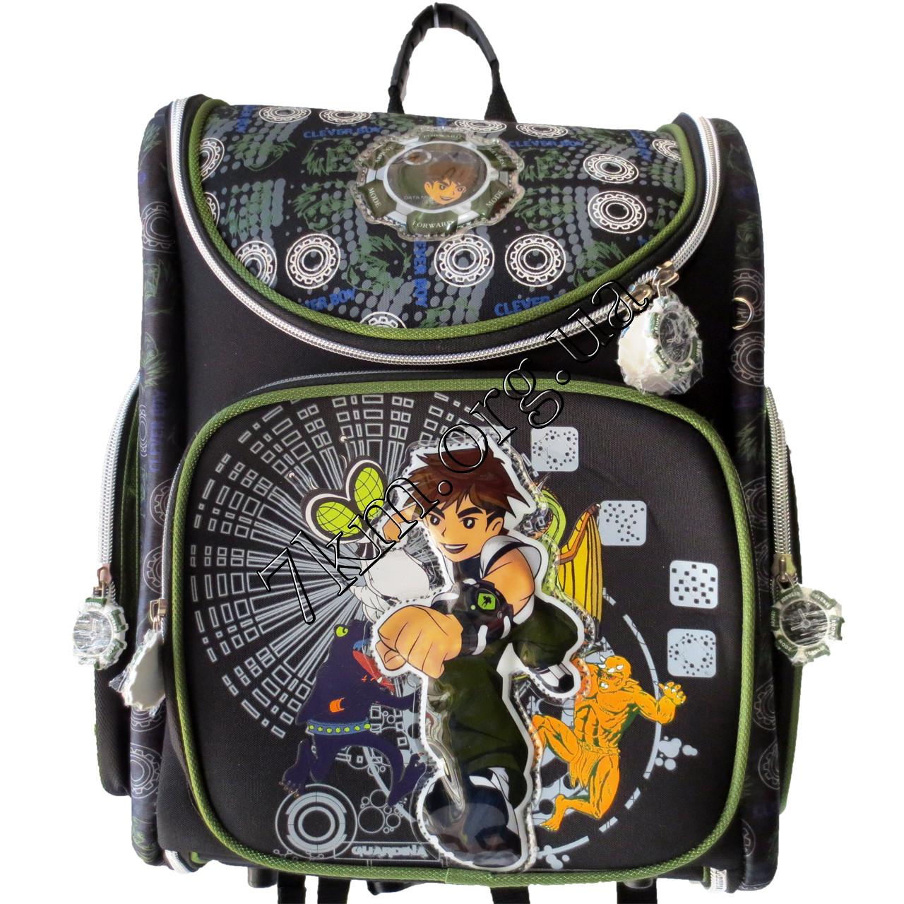 Школьный ранец для мальчиков Ортопедический Трансформер 12583-1 (35x35см)