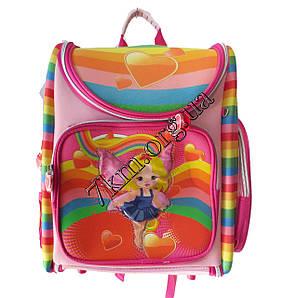Школьный ранец для девочек Ортопедический Трансформер 12583-2 (35x35см)
