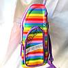 Школьный ранец для девочек Ортопедический Трансформер 12583-12 (35x35см), фото 2
