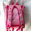 Школьный ранец для девочек Ортопедический Трансформер 12583-14 (35x35см), фото 3