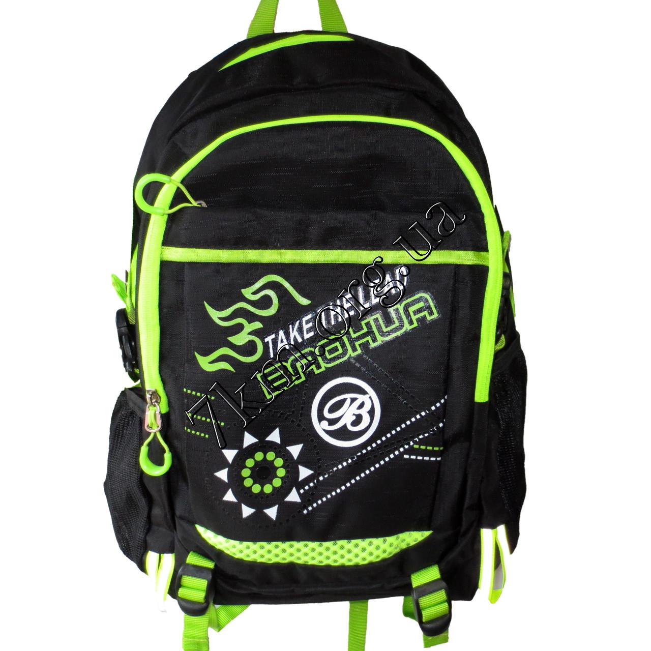 Школьный рюкзак черный для мальчиков