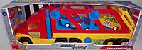 Машинка игрушечная Тягач эвакуатор WADER серия Super Truck
