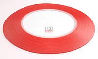 Скотч двухсторонний красный 0,1 см