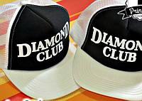 "Кепка тракер мужская/женская ""Diamond club"""