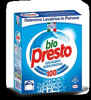 Порошок для стирки безфосфатный универсальный Bio Presto Италия 80 стирок