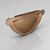 Заглушка универсальная CU ROOFART Scandic Copper 125 мм