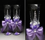 Свадебные бокалы в ассортименте, фото 2
