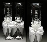 Свадебные бокалы в ассортименте, фото 5