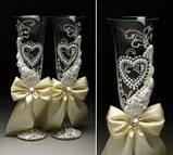 Свадебные бокалы в ассортименте, фото 7