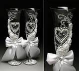 Свадебные бокалы в ассортименте, фото 10
