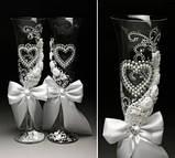 Свадебные бокалы в ассортименте, фото 8