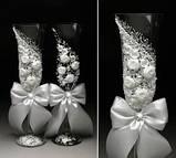 Свадебные бокалы в ассортименте, фото 9