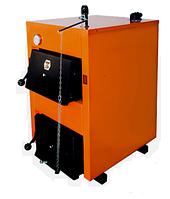 Котел под дрова и уголь ДТМ Эко 20М мощностью 20 кВт с регулятором тяги